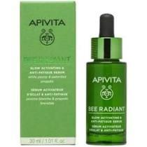Apivita Bee Radiant Ορός Ενεργοποίησης και Λάμψης με Λευκή Παιώνια & Πατενταρισμένη Πρόπολη 30ml