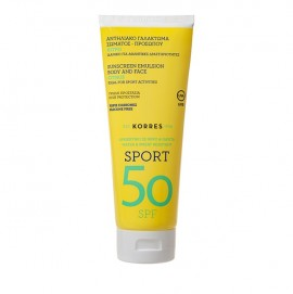 Korres Citrus Sport Sunscreen Emulsion SPF50 200ml