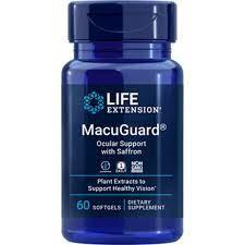 Life Extension MacuGuard Ocular Support 60 κάψουλες