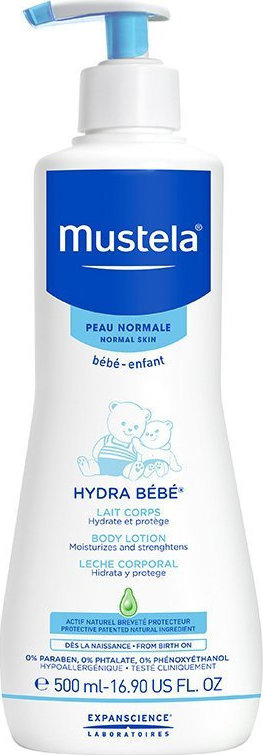 Mustela Hydra-Bebe Body Lotion 500ml