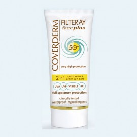 Coverderm Filteray Face Plus 2 in 1 Oily/Acneic Skin SPF50+ 50ml