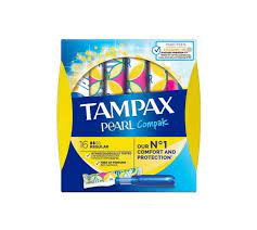 Tampax Pearl Compak Regular με Απλικατέρ 16τμχ