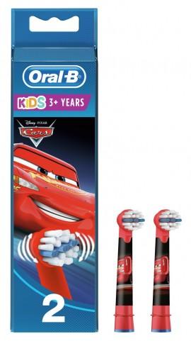 Oral-B Stages Kids Cars 2 ανταλλακτικά