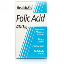 Health Aid Folic Acid 400μg 90tablets