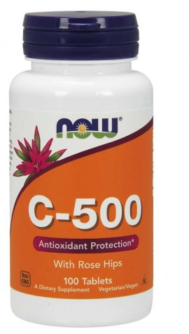 Now C-500 100 ταμπλέτες