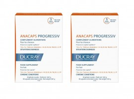 Ducray Promo Anacaps Progressiv 2x30 Caps -20%