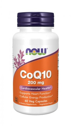 Now Co-Q10 200mg 60 veg caps
