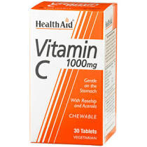 Health Aid Vitamin C 1000mg Chewable 30 tablets