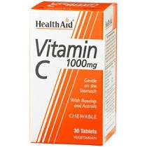 Health Aid Vitamin C 1000mg Chewable 30 tablets