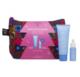 Apivita Aqua Beelicious Awesome Blossom Set Oil-Free Κρέμα Gel 40ml και ΔΩΡΟ Booster 10ml