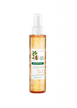 Klorane Rich Body Oil with Organic Cupuacu Butter 150ml
