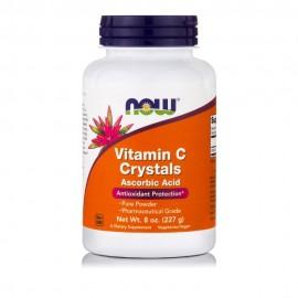 Now Βιταμίνη C Crystals 227 gr