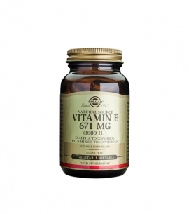 Solgar Vitamin E 1000 IU 100softgels