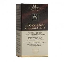 Apivita My Color Elixir 5.65 Καστανό Ανοιχτό Κόκκινο Μαόνι