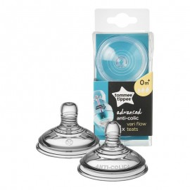 Tommee Tippee Advanced Anti Colic Vari Flow Teats 0m+ 2τεμάχια