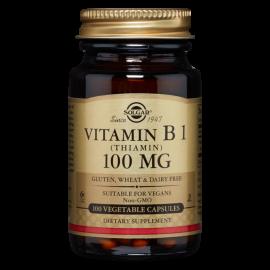 Solgar Vitamin B1 100 mg (Thiamin) 100 caps
