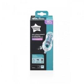 Tommee Tippee Πλαστικό Μπιμπερό Anti-Colic με Θηλή Σιλικόνης 3m+ 340ml