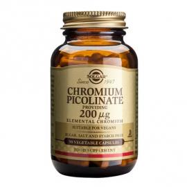 Solgar Chromium Picolinate 200mcg 90 ταμπλέτες