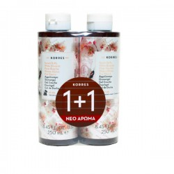 Korres Αφρόλουτρο Λευκά Άνθη 1+1 250ml+250ml
