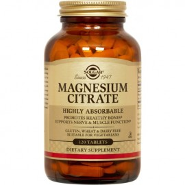 Solgar Magnesium Citrate 200mg 120 tabs