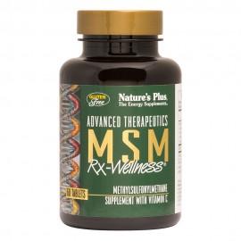 NaturesPlus MSM Rx-Wellness 60tabs