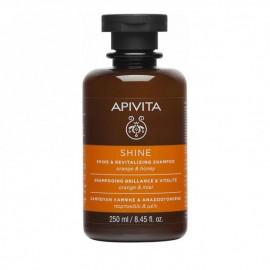 Apivita Σαμπουάν Λάμψης & Αναζωογόνησης με Πορτοκάλι και Μέλι 250ml