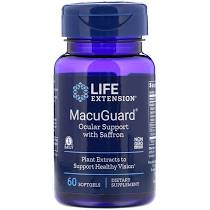 Life Extension MacuGuard Ocular Support 60 κάψουλες