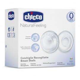 Chicco Κοχύλια Συλλογής Μητρικού Γάλακτος 2τμχ