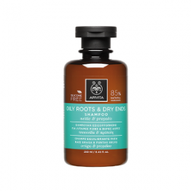 Apivita Oily Roots Dry Ends Shampoo with Nettle & Propolis 250ml