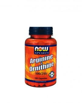 Now L-Arginine & L-Ornithine (Sports)