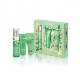 Caudalie Promo Eau des Vignes Fresh Fragrance 50ml & Eau des Vignes Shower Gel 50ml & Eau des Vignes Body Lotion 50ml