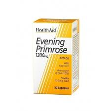 HealthAid Evening Primrose 1300mg 30 capsules