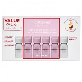Foltene Women Hair & Scalp Treatment Αγωγή με Αμπούλες Κατά της Γυναικείας Τριχόπτωσης 24 vials