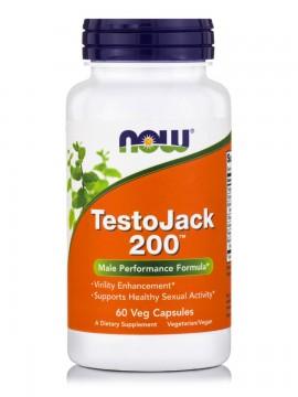 Now TestoJack 200  60 φυτικές κάψουλες