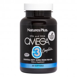 Natures Plus Omega 3 Complete 60 μαλακές κάψουλες