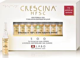 Labo Crescina Hfsc 100% 500 Woman 10 amp