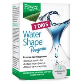 Power Health Water Shape Program 7 days 14 αναβράζουσες ταμπλέτες