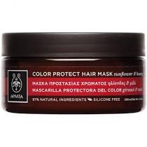 Apivita Μάσκα Προστασίας Χρώματος για Βαμμένα Μαλλιά με Ηλίανθο & Μέλι 200ml