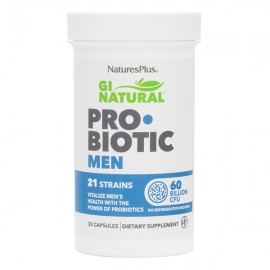 NaturesPlus Gi Natural Probiotic Men 30 Κάψουλες