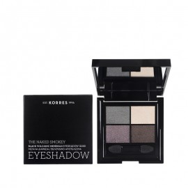 ΚΟΡΡΕΣ Black Volcanic Minerals Eyeshadow The Naked Smokey