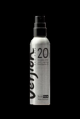 Version Derma Invisible Mist SPF 20 UVB/UVA  200 ml