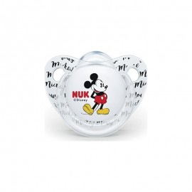Nuk Disney Classics Mickey Πιπίλα Σιλικόνης 0-6 μηνών, 1τεμ