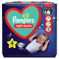 Pampers Night Pants Μέγεθος 4 (9kg-15kg), 25τεμ