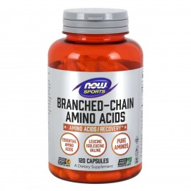 Now Sports Branched Chain Amino Acids (BCAA) 120 Κάψουλες