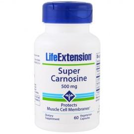 Life Extension Super Carnosine 500mg 60 φυτικές κάψουλες