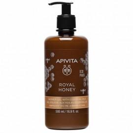 Apivita Royal Honey Κρεμώδες Aφρόλουτρο με Aιθέρια Έλαια 500ml