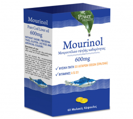 Power Health Mourinol Cod liver oil 600mg 60caps