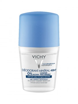 Vichy Deodorant Mineral 48h Roll-on 50ml