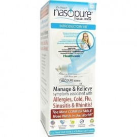 Nasopure Nasal Wash System Kit Συσκευή Ρινικής Πλύσης & 4 φακελάκια ρυθμιστικού άλατος 4x 3,75gr