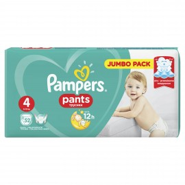 Pampers Pants Jumbo Pack Μέγεθος 4 (9-14kg) 52τμχ